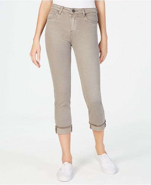 Kut from the Kloth Amy Cropped Straight-Leg Jeans