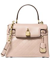 a9b64cbb9af6 MICHAEL Michael Kors Gramercy Chain Embossed Leather Top Handle Satchel