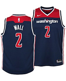John Wall Washington Wizards Statement Swingman Jersey, Big Boys (8-20)