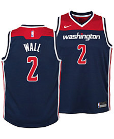 Nike John Wall Washington Wizards Statement Swingman Jersey, Big Boys (8-20)