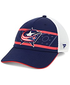 Columbus Blue Jackets 2nd Season Trucker Adjustable Snapback Cap