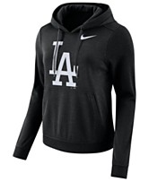 beb2f98d3151b4 Nike Women s Los Angeles Dodgers Club Pullover Hoodie