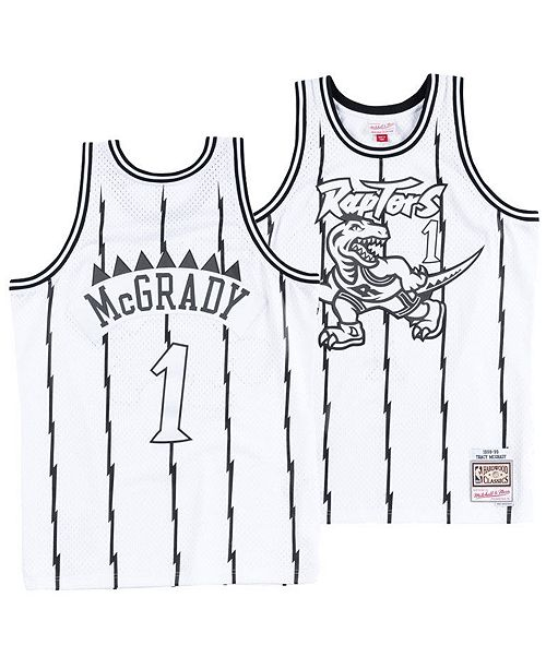 2732d52e7f0 ... Mitchell & Ness Men's Tracy McGrady Toronto Raptors Concord Collection Swingman  Jersey ...