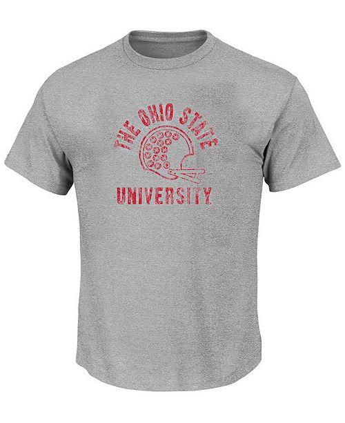 Profile Men's Big & Tall Ohio State Buckeyes Helmet T-Shirt