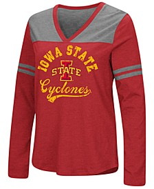 Women's Iowa State Cyclones Dual Blend Long Sleeve T-Shirt