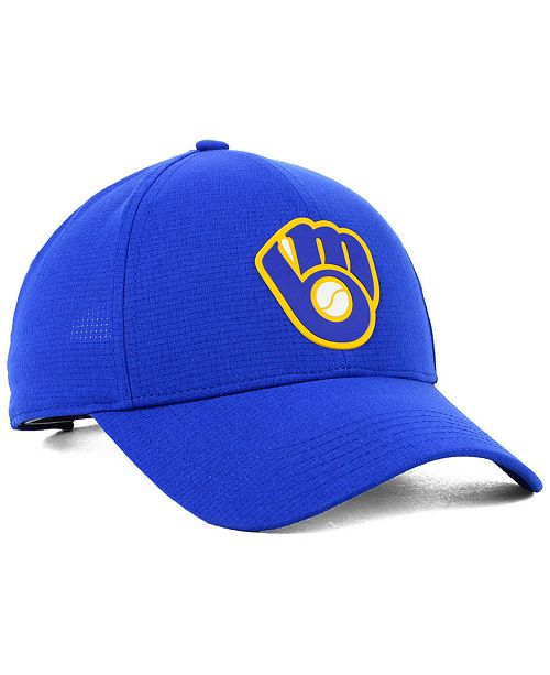 aeb74d2f2cc32 Under Armour Milwaukee Brewers Driver Cap - Sports Fan Shop By Lids ...