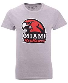 New Agenda Men's Miami (Ohio) Redhawks Big Logo T-Shirt