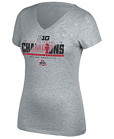 J America Women's Ohio State Buckeyes 2018 Locker Room Conference Champ T-Shirt