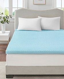 "Flexapedic by Sleep Philosophy 3"" Gel-Infused Memory Foam California King Mattress Topper"