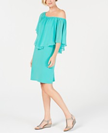 JM Collection Petite Triple-Threat Dress, Created for Macy's