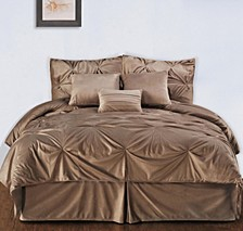 Pintuck Plush 7-PC Complete Comforter Set