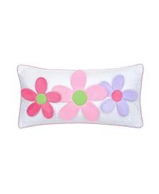 Levtex Home Merril Girl 3D Flowers Pillow