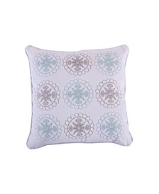 Home Spruce Spa Embroidered Pillow