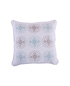 Levtex Home Spruce Spa Embroidered Pillow