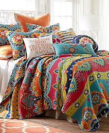 Home Amelie Full/Queen Quilt Set