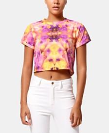 ARTISTIX Sierra Cropped Tie-Dye T-Shirt