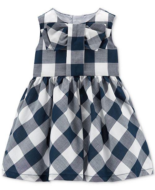 Carter's Baby Girls Gingham Dress