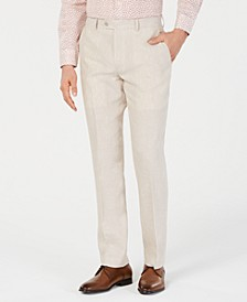 Men's Slim-Fit Chambray Suit Pants, Created for Macy's