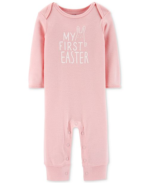 a17635e00 Carter's Baby Girls My First Easter Cotton Coverall & Reviews - All ...