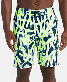 """Nike Men's Glow Diverge Quick-Dry Printed 9"""" E-Board Shorts"""