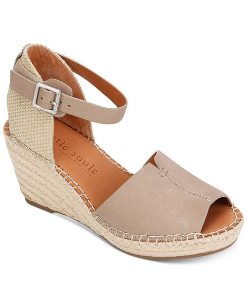 7e29c5699dc Gentle Souls by Kenneth Cole Women's Charli Espadrille Wedge ...