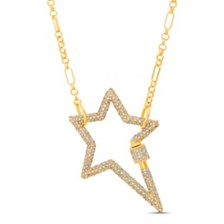 Steve Madden Open Star Chain Necklace