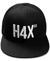 H4X Men s Logo Snapback Hat 5311a6568e40