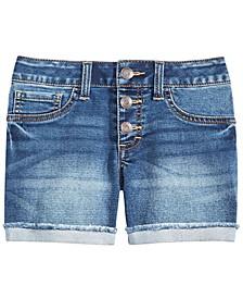 Big Girls Marty Cuffed Denim Shorts