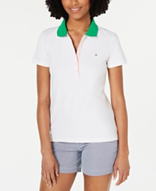 Tommy Hilfiger Colorblocked Polo Top