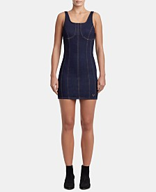 True Religion Seamed Bodycon Dress