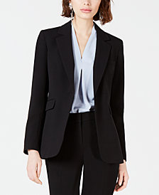 Bar III One-Button Jacket, Created for Macy's