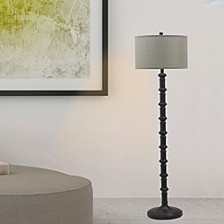 "1597ORB 63"" Metal Stacked Floor Lamp"