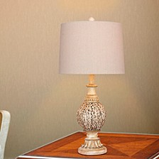"""1606 Pair of 27"""" Antique Branch Metal Table Lamps"""