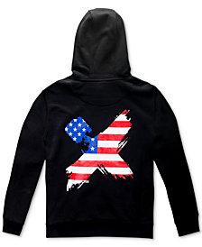 H4X Men's International Flag Back Logo Hoodie