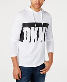DKNY Men's Logo Graphic Hoodie