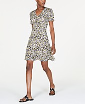 48a2a79bb90 MICHAEL Michael Kors Printed A-Line Dress