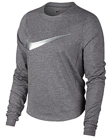 Nike Dry Element Metallic-Logo Running Top