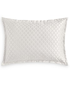 Luxe Border 170-Thread Count Quilted Standard Sham, Created for Macy's