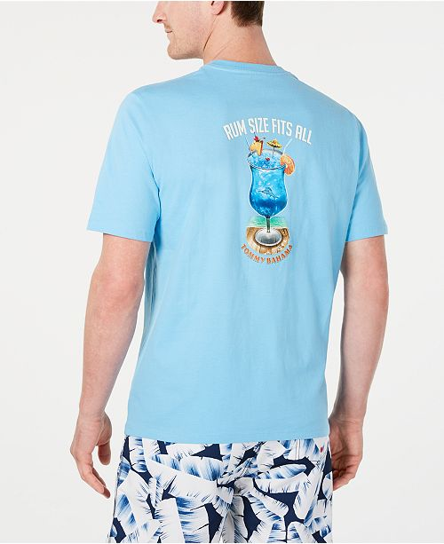 Tommy Bahama Men's Rum Size Fits All Graphic T-Shirt