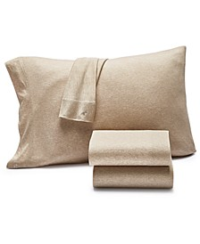 Jersey Knit Set of 2 Standard Pillowcases, Created for Macy's