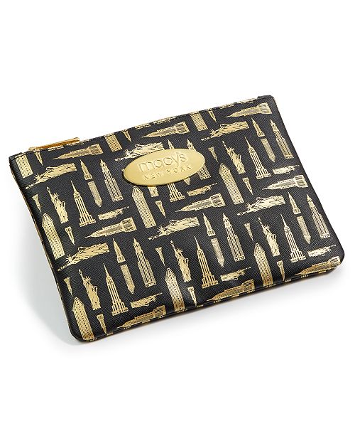 Macy's Printed Faux-Leather Pencil Case, Created for Macy's
