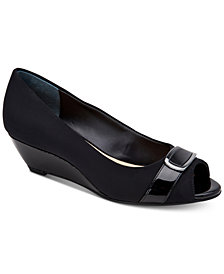 Alfani Carterr Step 'N Flex Wedges, Created for Macy's
