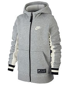 Nike Big Boys Air Full-Zip Hoodie