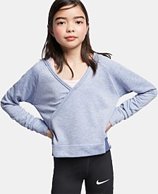 Nike Big Girls Reversible Training Top