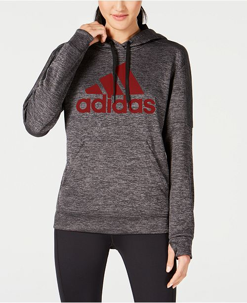 414e27e38 adidas Shine Logo Hoodie, Created for Macy's & Reviews - Tops ...