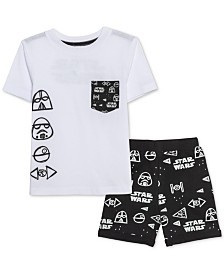 Star Wars Little Boys T-Shirt & Shorts Set