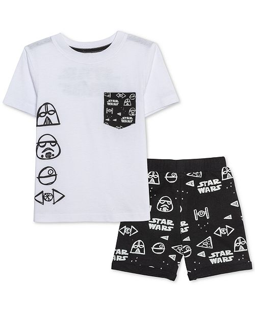 Star Wars Toddler Boys T-Shirt & Shorts Set