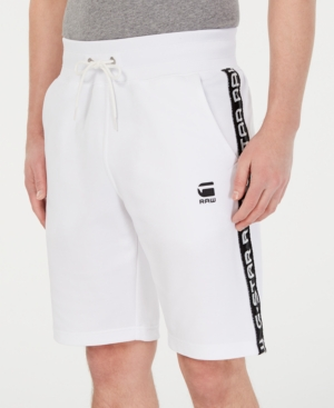 G-Star Raw Shorts G-STAR RAW MEN'S SATUR STRAIGHT-FIT STRETCH SWEATSHORTS, CREATED FOR MACY'S