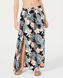 Roxy Juniors' Desert Garden Printed Skirt Cover-Up