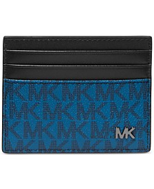 Michael Kors Men's Jet Set Logo-Print Tall Card Case